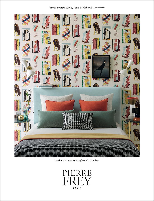Papier Peint Pierre Frey ambroise tézenas - pierre frey - campaign 2017